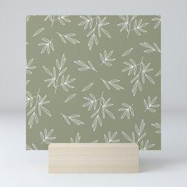 Olive in Olive Mini Art Print