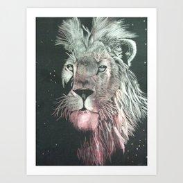 Mistic Lion Art Print