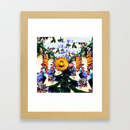 Fall into Me Framed Art Print