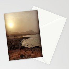 Hazy Sunset Stationery Cards