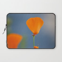 California Poppy Dreaming Laptop Sleeve