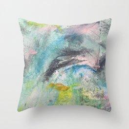 Baby unicorn Throw Pillow