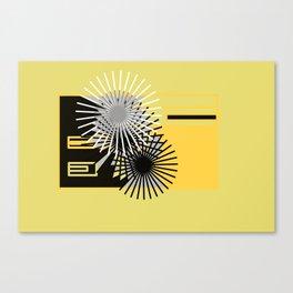 """ Black O "" Canvas Print"