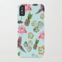 hawaiian iPhone & iPod Cases featuring Hawaiian by Stag Prints