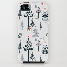 Christmas Tree Forest iPhone (5, 5s) Tough Case