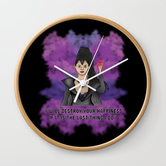 OUAT - Something Evil This Way Comes Wall Clock