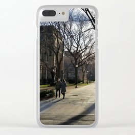 Yale New Haven Photography Clear iPhone Case