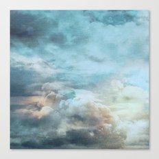 Vintage sky Canvas Print