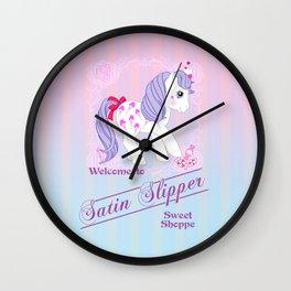 g1 my little pony Sweet Shoppe ad Wall Clock