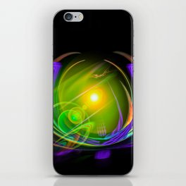 Magical Light and Energy 11 iPhone Skin