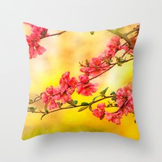 Spring is beautiful Throw Pillow