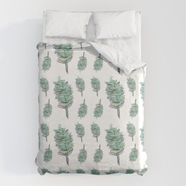 Plant, drawing pattern Duvet Cover