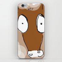donkey iPhone & iPod Skins featuring Donkey by Frances Roughton