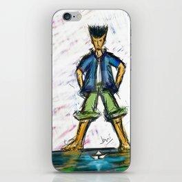 Paper Boater iPhone Skin