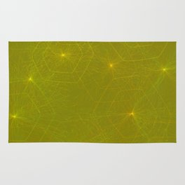 Fireflies and Filaments Rug