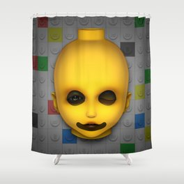 Misfit - Dolly Shower Curtain