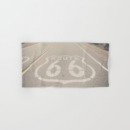 Route 66 ... Hand & Bath Towel
