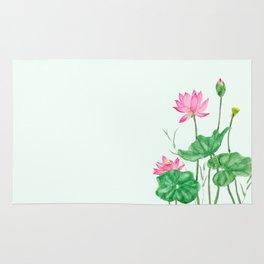lotus flower Rug