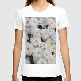 White Mums T-shirt