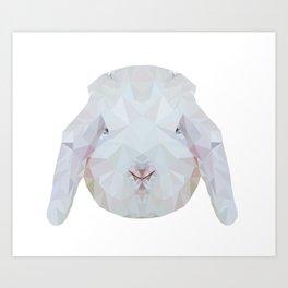 Bunny Portrait Art Print