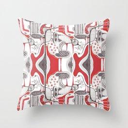 Abstract hand drawn idea design  Throw Pillow