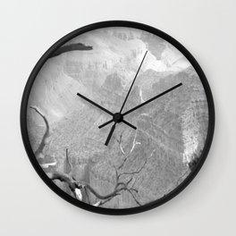 Black and white Grand Canyon Wall Clock