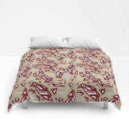 Spirit Animals Desert - Coyote - Raven - Lizard Comforters