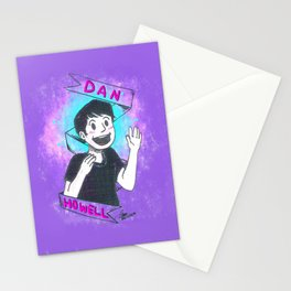 MoonIsNotOnFire Stationery Cards