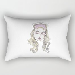 good morning, sluts Rectangular Pillow