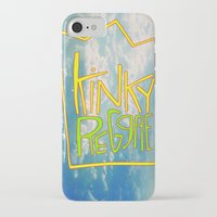 reggae iPhone & iPod Cases featuring kinky reggae by amy darlene