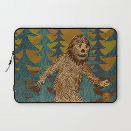 Bigfoot birthday card Laptop Sleeve