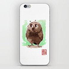 Petite Chouette iPhone & iPod Skin