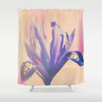 iris Shower Curtains featuring Iris by LoRo  Art & Pictures