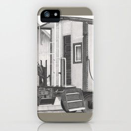 All aboard! iPhone Case