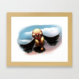 Learn To Fly Framed Art Print