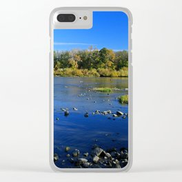Mary Jane Thurston State Park Clear iPhone Case