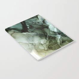 Land and Sky Abstract Landscape Painting Notebook
