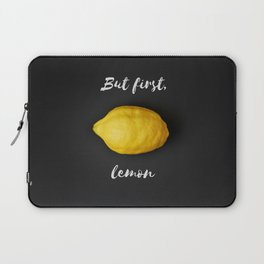 But first, lemon Laptop Sleeve