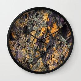 Hallett Rock Wall Clock