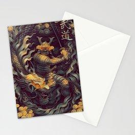 Samurai Ninja Warrior Katana Stationery Cards