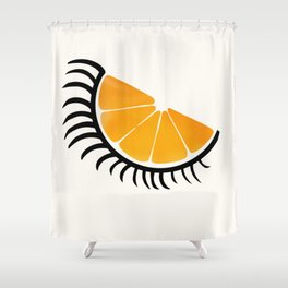 Clockwork Orangina Shower Curtain