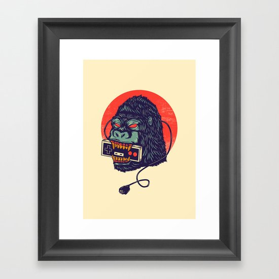 kong Framed Art Print