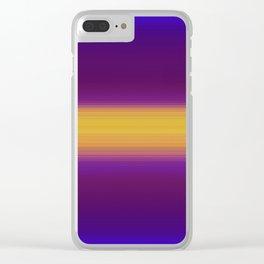 Glytch 18 Clear iPhone Case