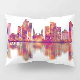 Johor Bahru Malaysia Skyline Pillow Sham