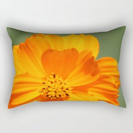 orange mexican aster 02 Rectangular Pillow