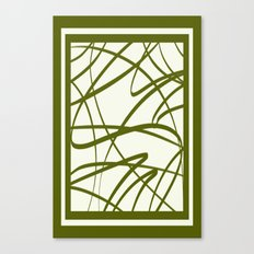 Bamboo Border DPA160608s Canvas Print
