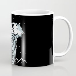 Tribal Polar Bear Coffee Mug