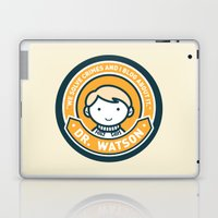 Cute John Watson - Orange Laptop & iPad Skin