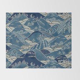 Blue Mountains Throw Blanket