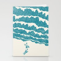 ilovedoodle Stationery Cards featuring To the sea by I Love Doodle